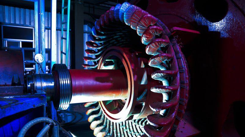 motore elettrico impregnazione