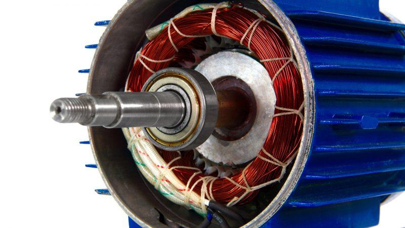 avvolgimento rame motore elettrico